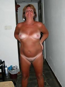 Filthy older milfs taking off their clothes for money