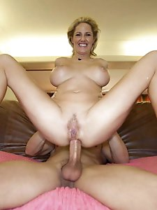 Exciting experienced damsel is masturbating
