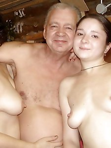 Superb experienced chick revealing her boobs