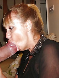 Glamour mature cuties enjoying a big boner very much